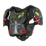 Alpinestars A-10 Full Roost Deflector Anthracite/Black/Red