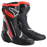 Alpinestars SMX Plus Boots White/Black/Red