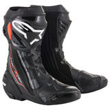 Alpinestars Supertech R Motorcycle Boots Black/Grey/Red