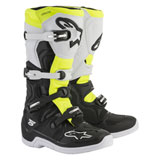 Alpinestars Tech 5 Boots Black/White/Flo Yellow