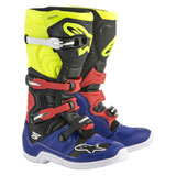 Alpinestars Tech 5 Boots 2019 Blue/Black/Flo Yellow/Red