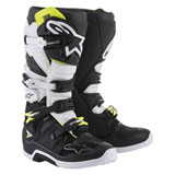 Alpinestars Tech 7 Boots  Black/White