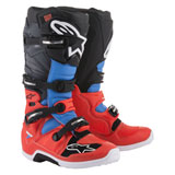 Alpinestars Tech 7 Boots 2019 Flo Red/Cyan/Grey/Black