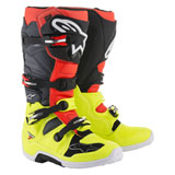 Alpinestars Tech 7 Boots 2019 Flo Yellow/Red/Grey