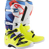 Alpinestars Tech 7 Boots 2019 Yellow/White/Blue