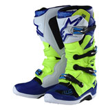 Alpinestars TLD Tech 7 Boots Flo Yellow/Blue