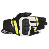 Alpinestars Booster Gloves Black/White/Yellow
