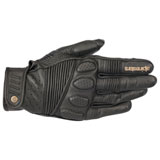 Alpinestars Oscar Crazy Eight Leather Gloves Black