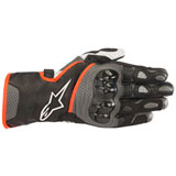 Alpinestars SP-2 V2 Leather Gloves Black/Grey/Red