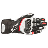 Alpinestars SP-2 V2 Leather Gloves Black/White/Red