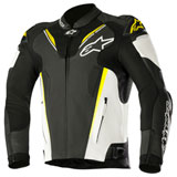 Alpinestars Atem V3 Leather Jacket Black/White/Yellow