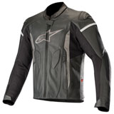 Alpinestars Faster Leather Jacket Black/Black