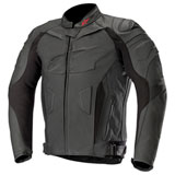 Alpinestars GP Plus R v2 Leather Jacket Black/Black