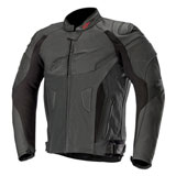 Alpinestars GP Plus R v2 Perforated Leather Jacket Black/Black