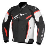 Alpinestars GP Plus R v2 Perforated Leather Jacket Black/White/Red
