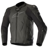 Alpinestars Missile Tech-Air Race Leather Jacket Black/Black