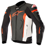 Alpinestars Missile Tech-Air Race Leather Jacket Black/White/Red