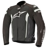 Alpinestars T-Missile Air Tech-Air Race Jacket Black/White