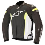 Alpinestars T-Missile Air Tech-Air Race Jacket Black/White/Yellow