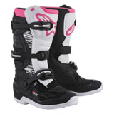 Alpinestars Women's Stella Tech 3 Boots Black/White/Pink