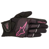 Alpinestars Women's Stella Atom Gloves Black/Pink