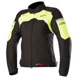 Alpinestars Women's Stella Hyper Drystar Jacket Black/Yellow