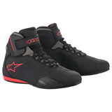 Alpinestars Sektor Riding Shoes Black/Grey/Red