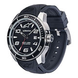 Alpinestars Tech Watch with Silicone Strap Steel