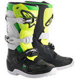 Alpinestars Youth Tech 7S LE Prodigy Boots Flo Yellow/Black/Green
