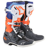 Alpinestars Tech 10 Boots Grey/Blue/Orange