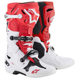 Alpinestars Tech 10 Boots Red/White/Black
