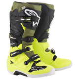 Alpinestars Tech 7 Boots  Yellow/Military/Black