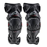 Alpinestars Fluid Tech Carbon Knee Brace Pair