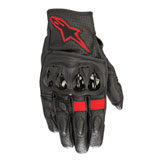 Alpinestars Celer V2 Leather Glove Black/Fluo Red