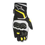 Alpinestars T-SP W Drystar Gloves Black/Flo Yellow