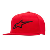 Alpinestars Ageless Flat Flex Fit Hat Red/Black