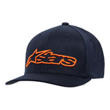 Alpinestars Blaze Flex Fit Hat Navy/Orange