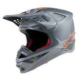 Alpinestars Supertech M10 MIPS Helmet Anthracite/Grey/Orange
