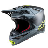 Alpinestars Supertech M10 MIPS Helmet Black/Grey/Yellow