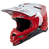 Alpinestars Supertech M10 Dyno MIPS Helmet Red/White