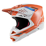 Alpinestars Supertech M8 Contact MIPS Helmet Light Orange/Grey