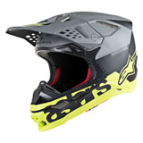Alpinestars Supertech M8 Radium MIPS Helmet Matte Black/Grey/Yellow