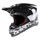 Alpinestars Supertech M8 Radium MIPS Helmet White/Black/Grey