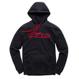 Alpinestars Blaze Hooded Sweatshirt Black/Red