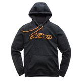 Alpinestars Blaze Hooded Sweatshirt Charcoal Heather/Orange