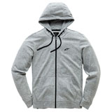 Alpinestars Bona Fide II Zip-Up Hooded Sweatshirt Grey Heather