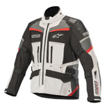 Alpinestars Andes Pro Tech-Air Street Drystar Jacket Light Grey/Black/Dark Grey/Red