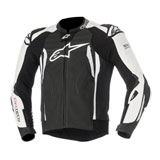 Alpinestars GP Tech V2 Tech-Air Race Leather Jacket Black/White