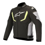 Alpinestars T-GP R V2 Waterproof Jacket Black/White/Flo Yellow