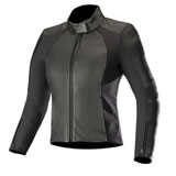 Alpinestars Women's Vika V2 Leather Jacket Black